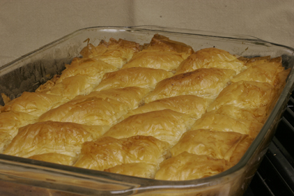 Note: Baklava keeps for one week stored in a cool, dry place. That is ...